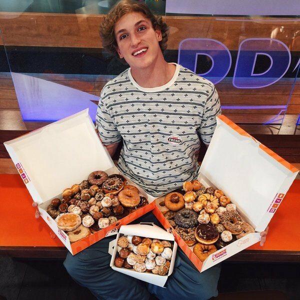 Dunkin' Donuts Taps Vine Star Logan Paul for Loyalty Program Jolt