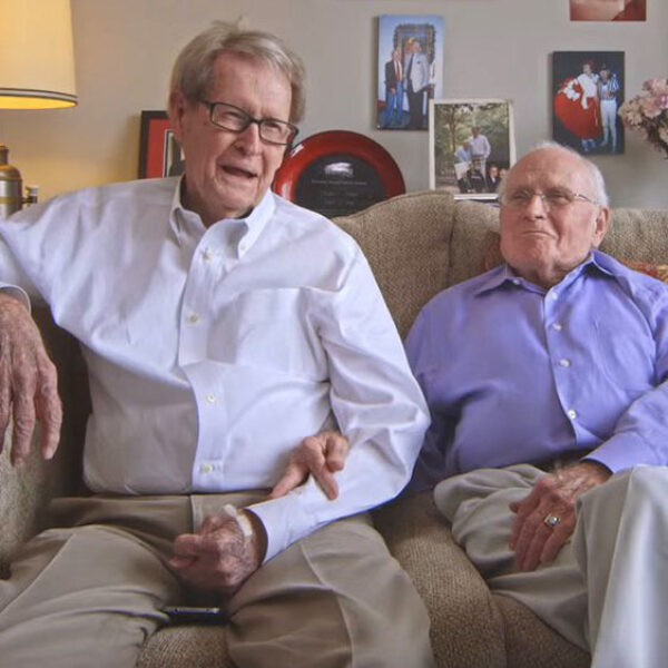 Sweethearts Candy Celebrates Elderly Gay Couple's Marriage in New Campaign